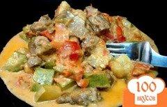 Фото рецепта: «Телятина в сметанном соусе»