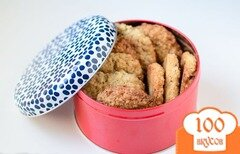 Фото рецепта: «Овсяное печенье с курагой»