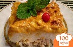 Фото рецепта: «Рыбная запеканка под томатным соусом»