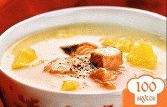 Фото рецепта: «Суп из консервированной горбуши»