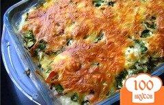 Фото рецепта: «Запеканка из капусты брокколи»
