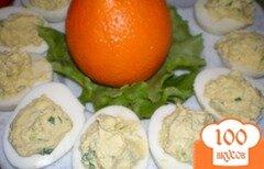 Фото рецепта: «Яички фаршированные с шалфеем»