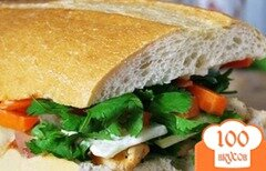Фото рецепта: «Вьетнамский сэндвич»