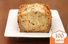 Фото рецепта: «Кокосово-банановый хлеб»