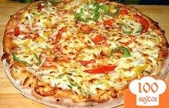 "Фото рецепта: «Пицца ""Четыре сыра""»"