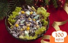 Фото рецепта: «Салат из краснокачанной капусты»