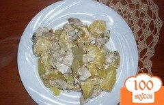 Фото рецепта: «Картошечка по-королевски»