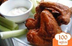 Фото рецепта: «Крылышки буффало»