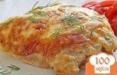 Фото рецепта: «Мясо по-французски с фаршем»