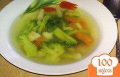 Фото рецепта: «Суп из сельдерея с рисом»