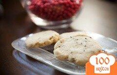 Фото рецепта: «Печенье с лавандой»