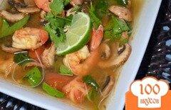 Фото рецепта: «Суп Том Ям с креветками»
