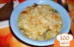 Фото рецепта: «Суп с капустой и рисом»