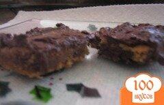 Фото рецепта: «Шоколадное печенье с арахисовым маслом»