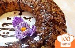 Фото рецепта: «Пирог дуэт из белого и чероного теста»