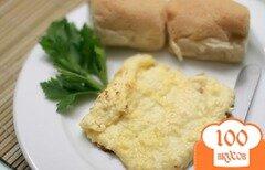 Фото рецепта: «Яичница с сыром в духовке»