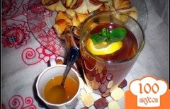 Фото рецепта: «Травяной противопростудный чай»