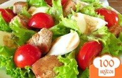 Фото рецепта: «Салат из индейки»