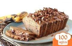 Фото рецепта: «Банановый хлеб с корицей и пеканами»