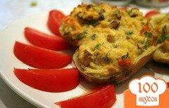 Фото рецепта: «Картошка с начинкой»