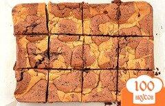 Фото рецепта: «Брауни с орехами и шоколадом»