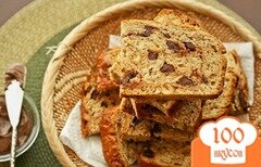 Фото рецепта: «Ореховый хлеб с шоколадом»