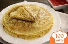 Фото рецепта: «Блинчики на завтрак»