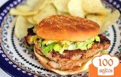 Фото рецепта: «Чикенбургер»