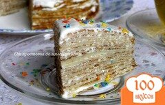 Фото рецепта: «Бабушкины блинчики и Блинный торт»