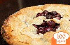 Фото рецепта: «Пирог с вишней»