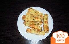 Фото рецепта: «Сырные палочки с тмином»