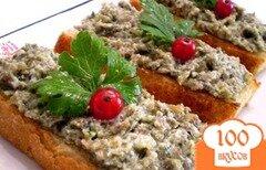 Фото рецепта: «Тосты с пастой из морской капусты»