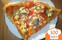Фото рецепта: «Пицца по-русски»