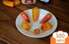 Фото рецепта: «Вегетарианские фаршированные перцы»