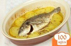 Фото рецепта: «Дорада с картофелем»