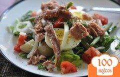 Фото рецепта: «Здоровый салат Нисуаз-Niçoise»