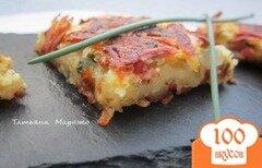 Фото рецепта: «Картофельная тортилья с ветчиной»