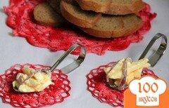 Фото рецепта: «Шведская закуска к черному хлебу»