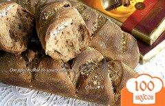 Фото рецепта: «Багеты с шоколадом и миндалем»
