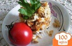 Фото рецепта: «Гарнир из риса и овощей»