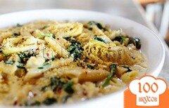 Фото рецепта: «Паста со шпинатом»