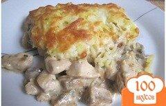 Фото рецепта: «Курочка под картофельной шубой»
