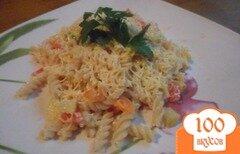 Фото рецепта: «Фузилли с овощным соусом»