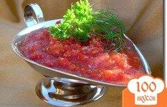 Фото рецепта: «Аджика, без тепловой обработки, с хреном»