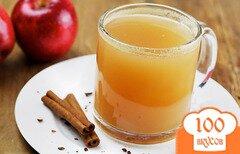 Фото рецепта: «Пряный горячий яблочный сок»