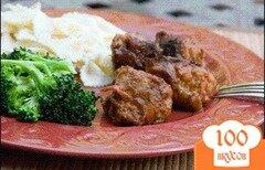 Фото рецепта: «Фрикадельки из индейки с сыром»