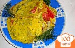 Фото рецепта: «Омлет с овощами»