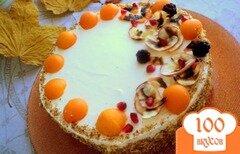 Фото рецепта: «Торт «Осенний блюз»»