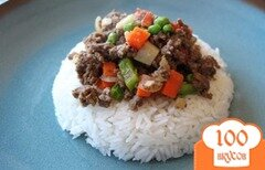 Фото рецепта: «Гинилинг с говядиной»