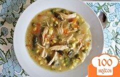 Фото рецепта: «Куриный суп в мультиварке»